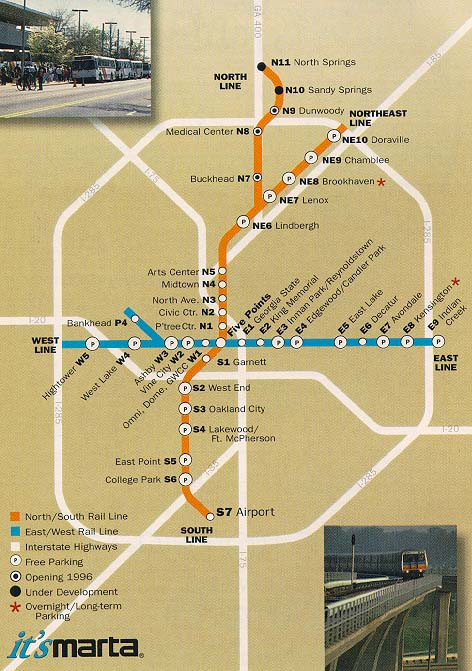 Buckhead Atlanta Georgia Transportation Marta